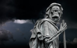 covid-19 the grim reaper